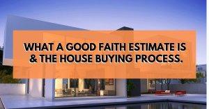 what is a good faith estimate gfe