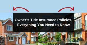 Owners Title Insurance Policies