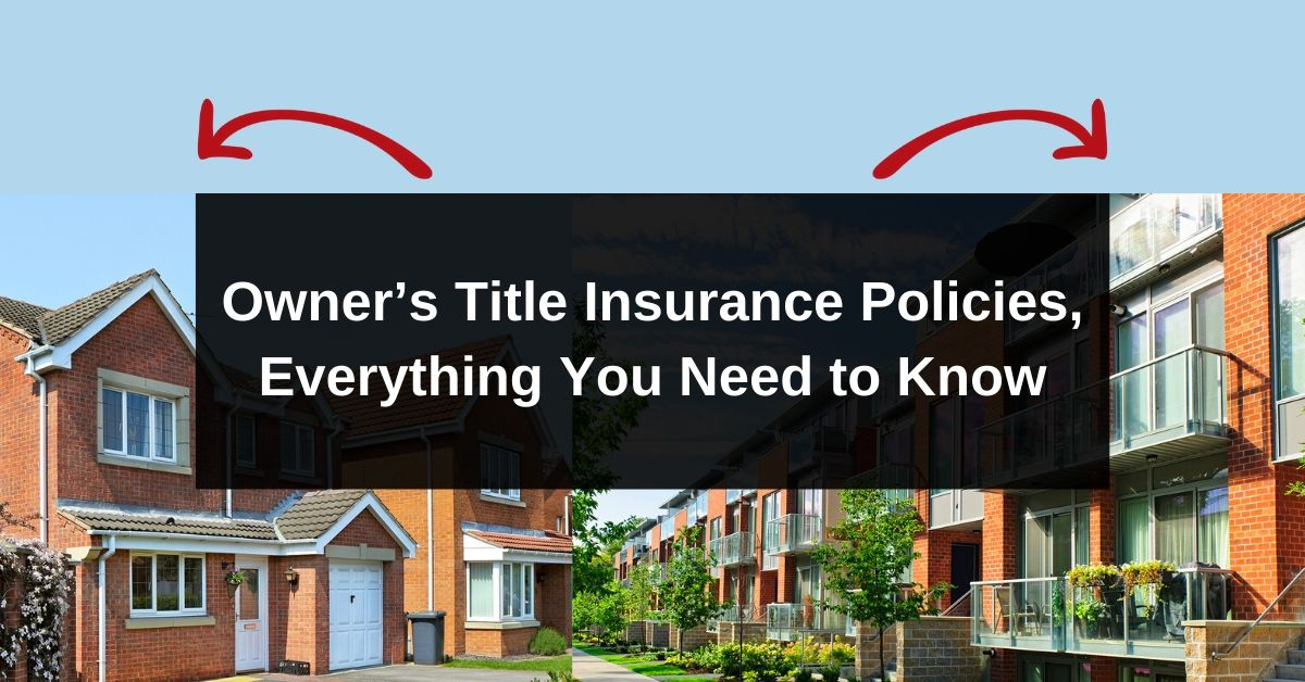 What an Owner's Title Insurance Policy Is