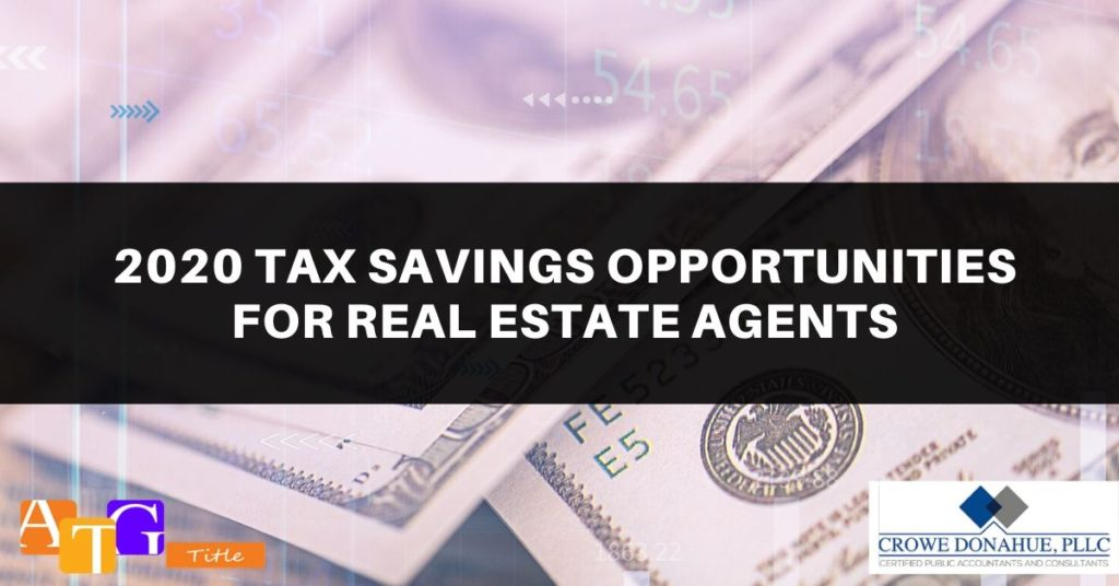 2019 Tax Update and the Real Estate Professional