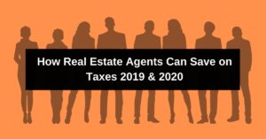real estate agent tax deductions