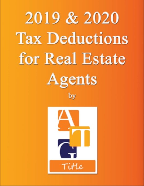 tax deducations for real estate agents and investors