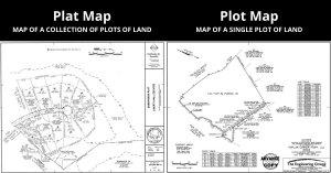 Plat Map Vs Plot Map