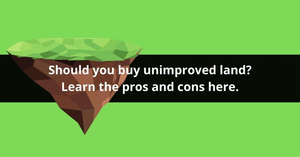 what is unimproved land