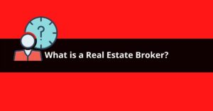 what is a real estate broker
